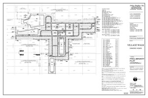 Village Walk Site Plan